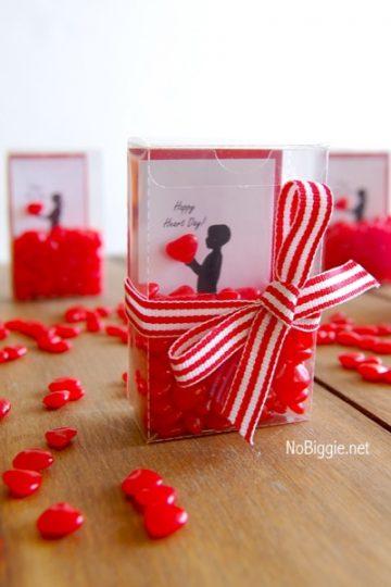 DIY Silhouette Valentines