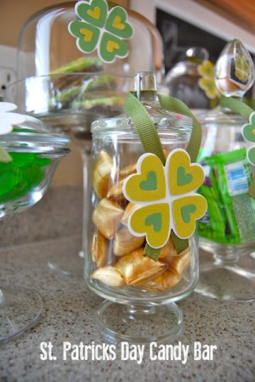 St Patrick's Day Candy Bar