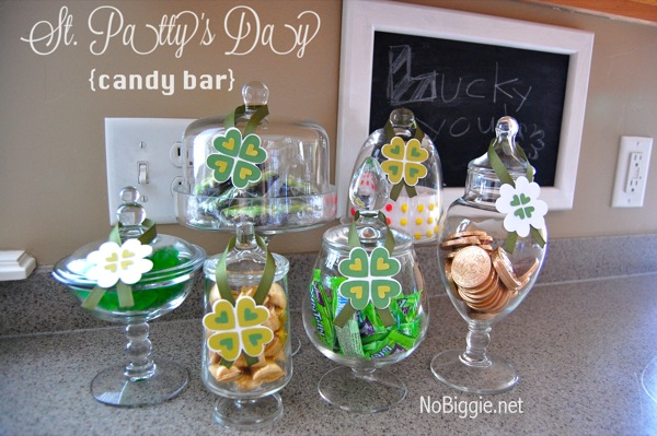 St Patrick S Day Candy Bar Nobiggie