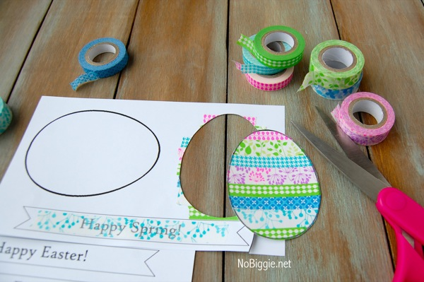 easy craft ideas for easter washi easter crafts free printable 6507