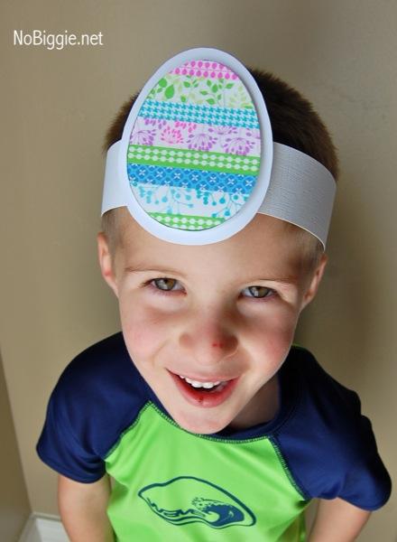 Washi Tape Easter crafts | NoBiggie.net