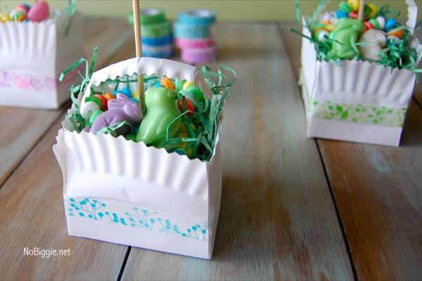 Washi Tape Easter crafts NoBiggie.net