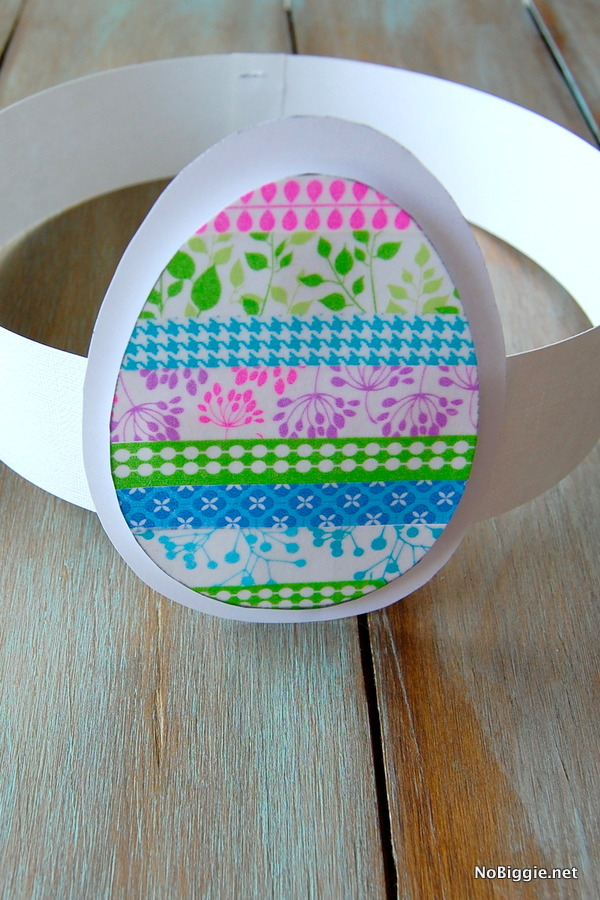 picture regarding Printable Easter Craft referred to as Washi Tape Easter Crafts (cost-free printable)