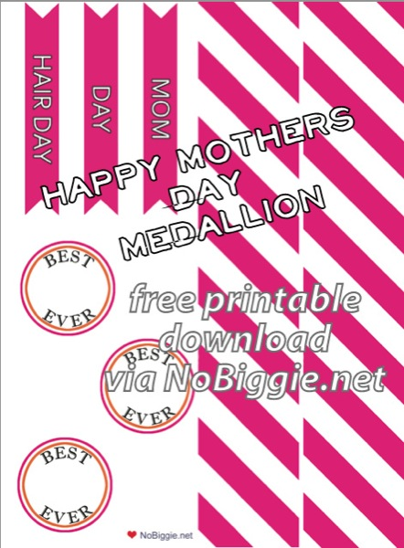Mother's Day printable (free) | NoBiggie.net