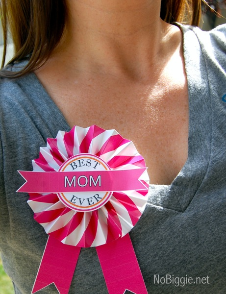 Free Easy Best Mom Ever Printable for Mother's Day