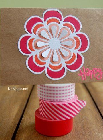 Handmade floral cards