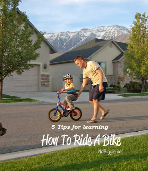 5 key tips for learning how to ride a bike