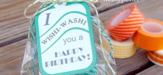 washi tape gift