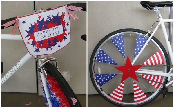 Bike parade ideas for the 4th of july for Bike decorating ideas