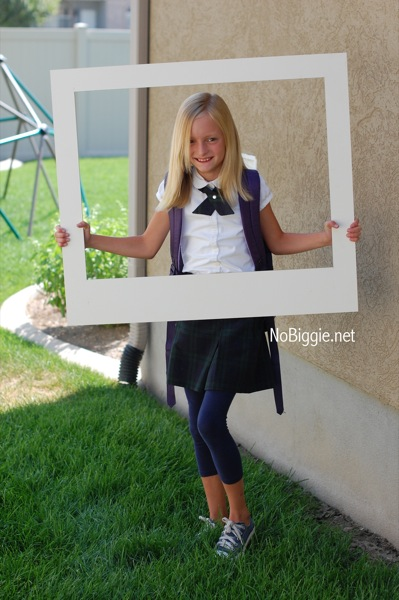 Make Your Own Giant Polaroid Frame
