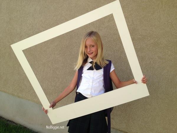 Make Your Own Giant Polaroid Frame