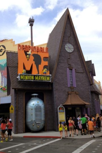 Despicable Me ride in Universal Orlando