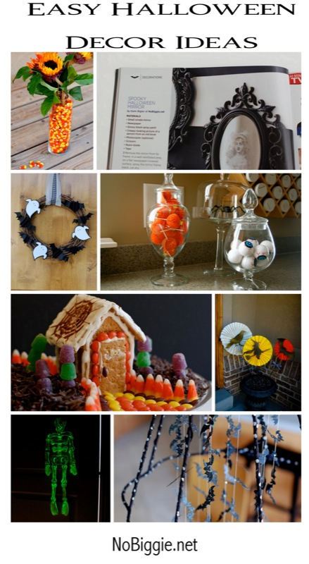 #Halloween Decor ideas www.NoBiggie.net