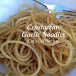 garlic noodles copycat #recipe www.NoBiggie.net