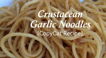 garlic noodles copycat #recipe www.NoBiggie.net