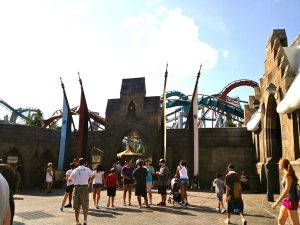 harry potter dragon challenge