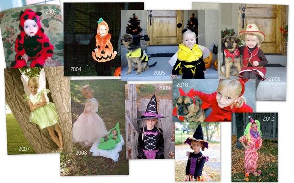 Halloween costumes thru the years NoBiggie.net