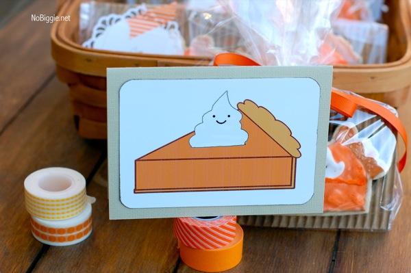 PumpkinPie place cards | NoBiggie.net