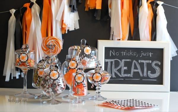 party tassel garland DIY NoBiggie.net