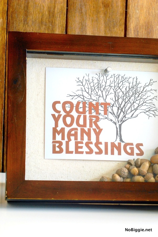 Count Your Many Blessings printable
