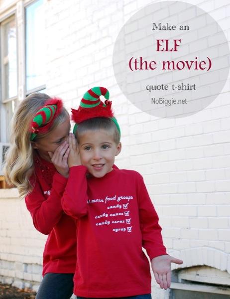 Elf quote shirt | NoBiggie.net