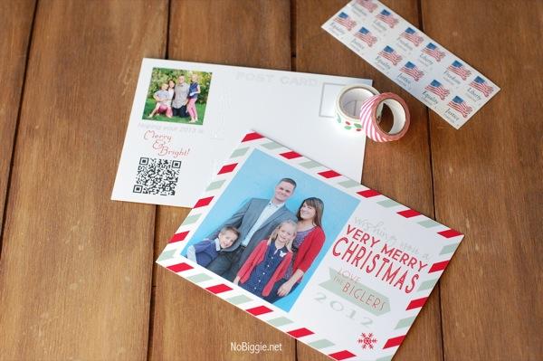 Christmas Card 2012 NoBiggie.net (postcard)