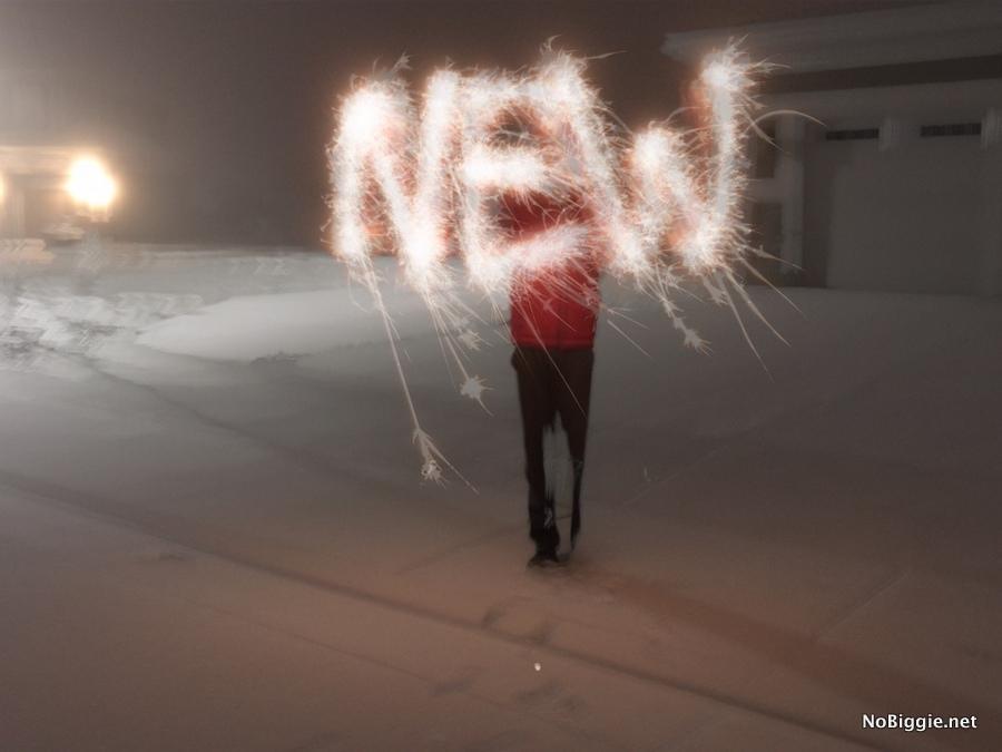 sparklers word photo