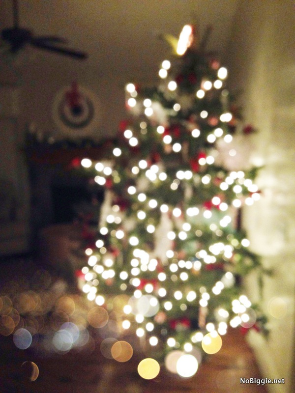 Christmas Tree bokeh - NoBiggie.net