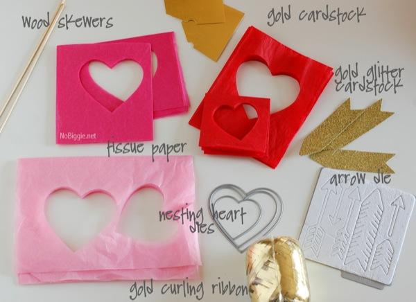 Cupid's arrow craft | NoBiggie.net