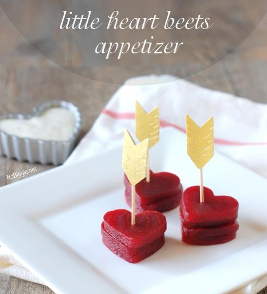 heart beets appetizer NoBiggie.net