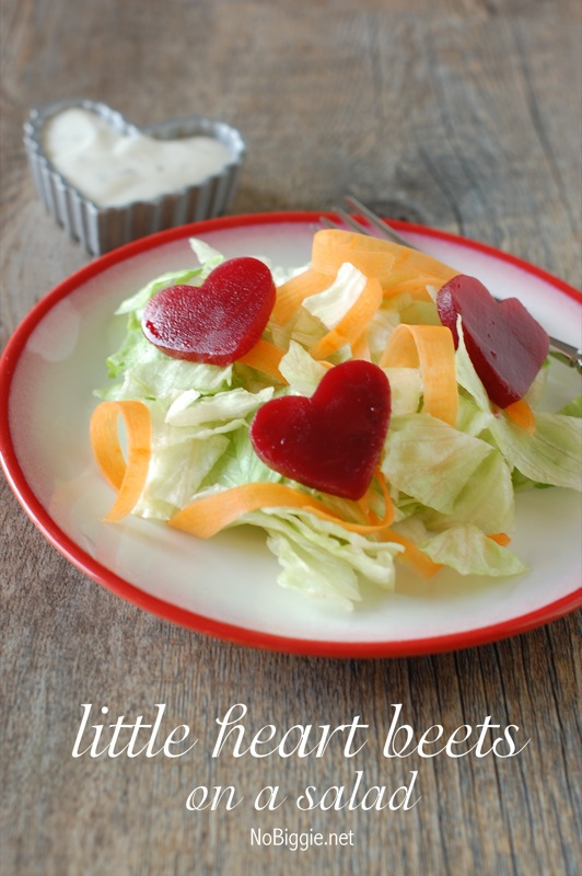 Heart Beets Salad 25+ Heart-Shaped Food Ideas | NoBiggie.net