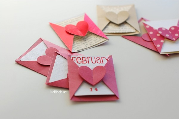 kraft paper love notes | 18+ Kraft Paper Valentines