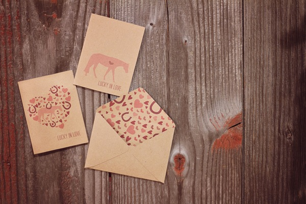 kraft paper tags lucky you