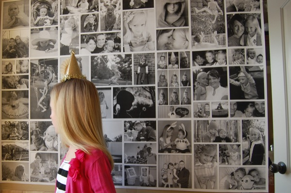 make a giant poster of favorite pictures over the years NoBiggie.net