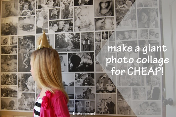 make a giant photo collage for CHEAP! NoBiggie.net