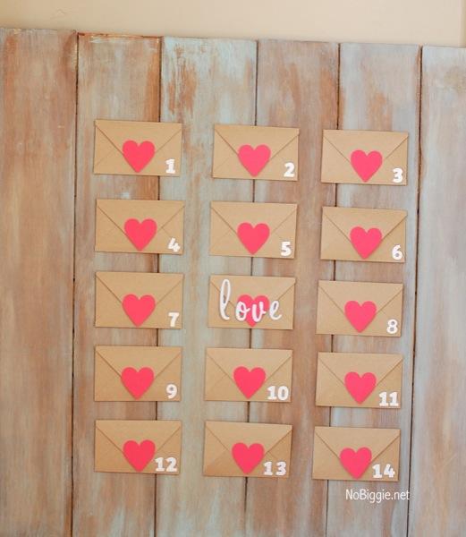 Valentine Calendar Ideas : Valentine s day countdown calendar with free printable