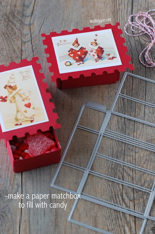 vintage valentine postcard printable | NoBiggie.net