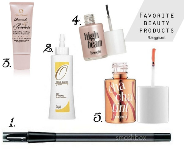 favorite beauty products | NoBiggie.net