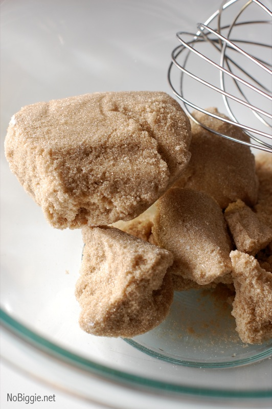 A great use for hard brown sugar | NoBiggie.net