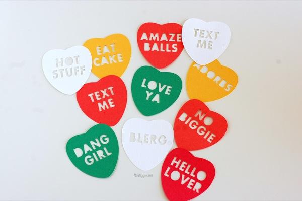 make your own conversation hearts NoBiggie.net