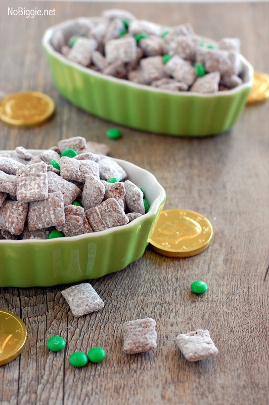 St. Patricks Day muddy buddies | NoBiggie.net