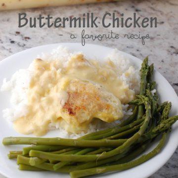 Buttermilk Chicken Casserole l NoBiggie.net