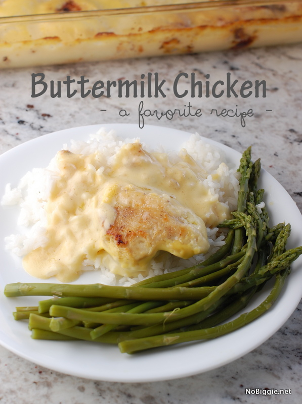 baked buttermilk chicken #recipe - NoBiggie.net