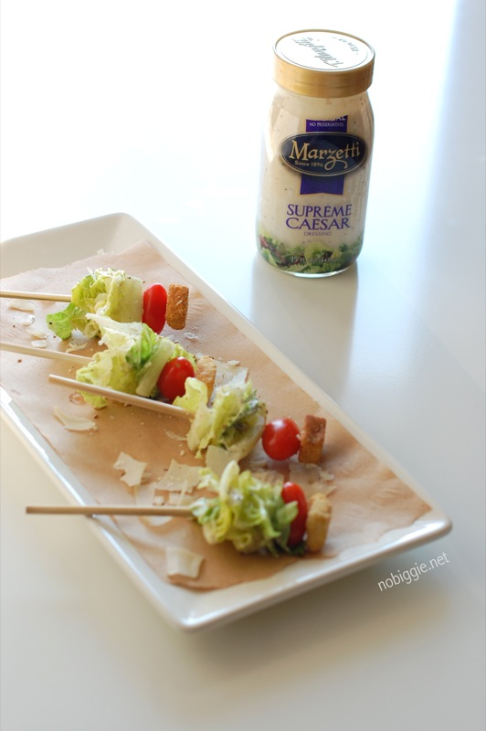 caesar salad on a stick - nobiggie.net