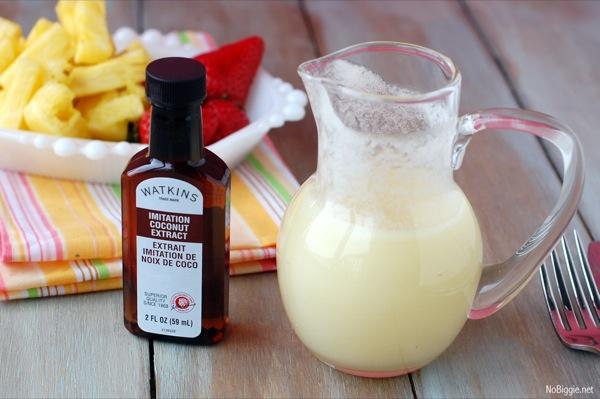 coconut buttermilk syrup | NoBiggie.net