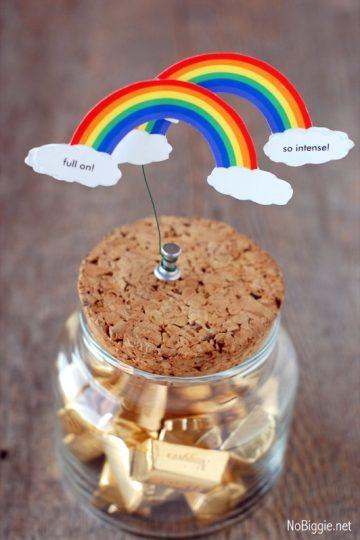 Double Rainbow – free printable
