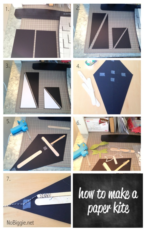 how to make a paper kite - NoBiggie.net