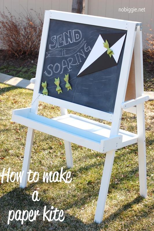 how to make a paper kite (tutorial) NoBiggie.net