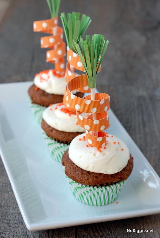 DIY carrot cake toppers - Nobiggie.net
