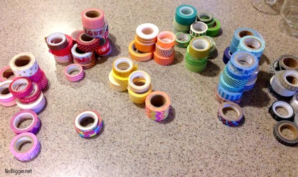 washi tape organizer - NoBiggie.net